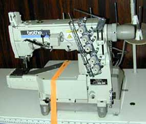 Brother Used Industrial Cover Stitch Machine, featuring